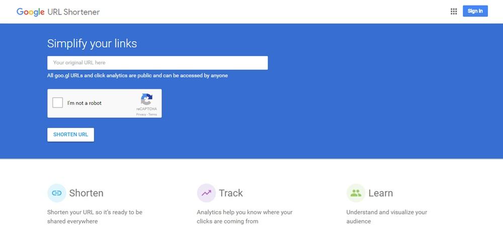 Googl Homepage